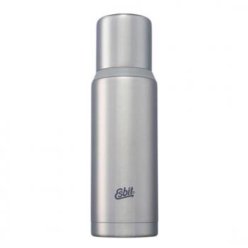 Esbit 不鏽鋼真空瓶1000ml - 消光銀