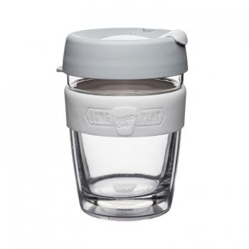 澳洲 KeepCup 雙層隔熱杯系列M-白咖啡