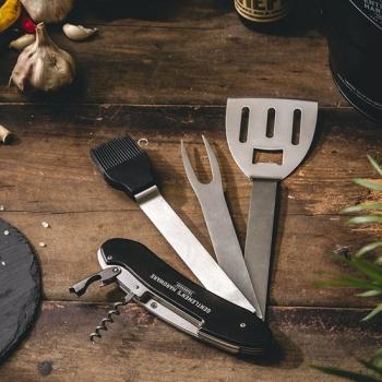 Gentlemen's Hardware 英國復古紳士風 探險BBQ 烤肉工具組