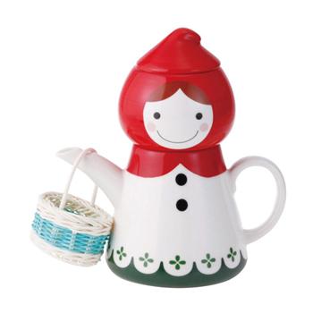 日本 sunart 杯壺組 - 小紅帽