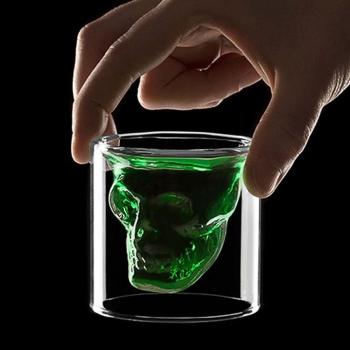 FRED&FRIENDDS 骷髏頭SHOT玻璃酒杯