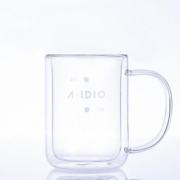 A-IDIO 雙層隔熱保溫玻璃杯(310ml)