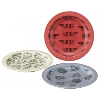 日本進口Lisa Larson聯名陶瓷餐盤