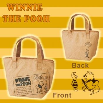 日本進口-紙袋風保溫保冷午餐提袋