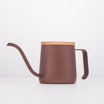 A-IDIO 馬卡龍手沖壺(240ml)-咖啡色