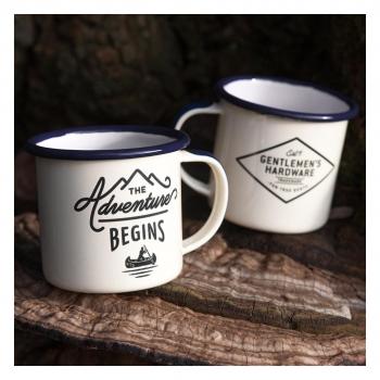 Gentlemen's Hardware 英倫紳士探險琺瑯咖啡杯組