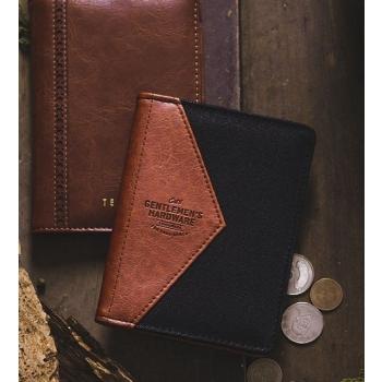 Gentlemen's Hardware 英倫紳士 帆布皮革護照夾