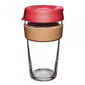 澳洲 KeepCup 隨身咖啡杯軟木系列 L-熱情