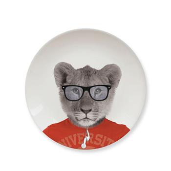 英國 Mustard 動物餐盤 7 吋 - 幼獅