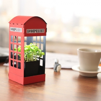 Paper Garden 療癒系LED植物燈---英倫風