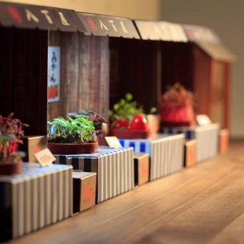 Paper Garden 療癒系LED植物燈--日本風