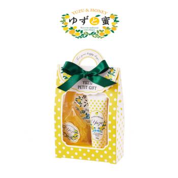 日本進口 柚子沐浴禮盒組 - 黃色柚子禮盒