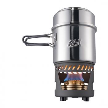 Esbit 985 酒精爐炊事組 - 不鏽鋼(CS985ST)