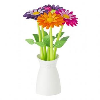 VIGAR 多彩花花筆組 5入含花盆