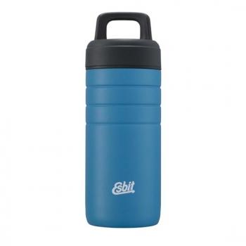 Esbit 鋼硬系列廣口真空瓶450ml - 天空藍