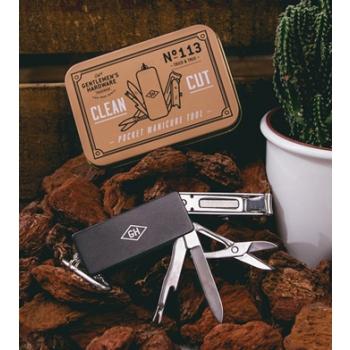 Gentlemen's Hardware 英國紳士 頂級不銹鋼 隨身指甲工具組