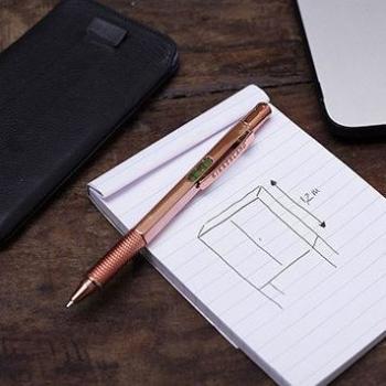 Kikkerland 銅色3合1多功能工具筆