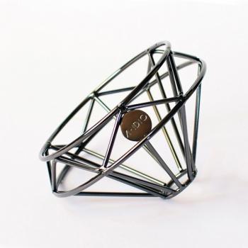 A-IDIO 鑽石咖啡濾杯-曜石黑